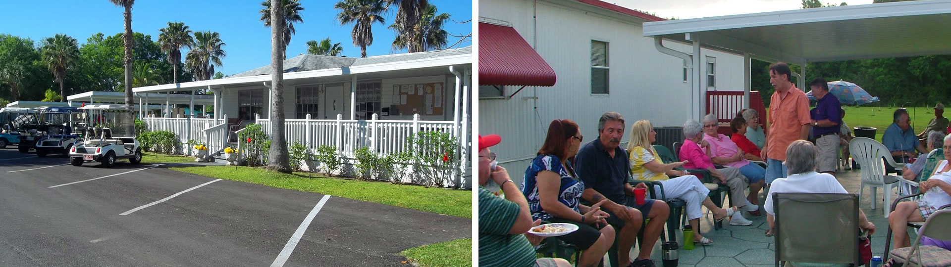 Auburndale FL RV Park Senior Friendly Pet